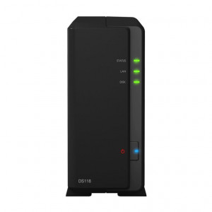NAS Synology Tower DS118 12TB (1 x 12 TB) HDD NS