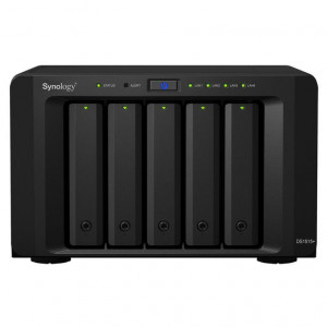 NAS Synology Tower DS1517+(2GB) 60TB (5 x 12 TB) assemblato con HDD Enterprise
