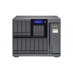 NAS QNAP Tower TS-1677X-1600-8G 72TB (12x6TB) HDD WD RED PRO