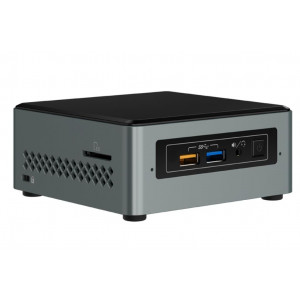 Intel NUC Arches Canyon - Celeron J3455 1,5 Burst 2,30GHz - Mini PC - 2GB SODDR3L + 32GB eMMC + WIN10Home + Intel HD Graphics 500- LAN+WIFI+BT - 1xHDMI+1xVGA - 4xUSB 3.0/3.1