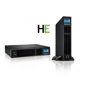 "UPS EVO DSP MM 1.3 RACK TOWER HE - HIGH EFFICIENCY - Formato convertibile (Rack 19"" o Tower) con display orientabile"