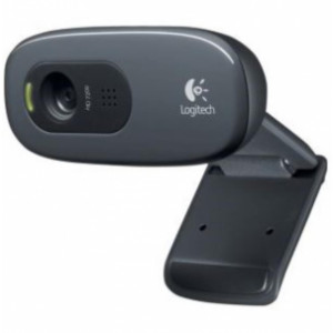 Logitech HD Webcam  C270 P - Colore nero - Cavo 1,5 m - MAC / PC