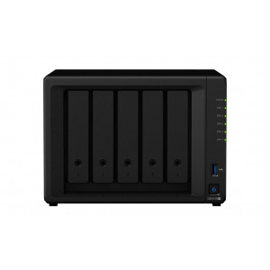 NAS Synology Tower DS1019+ 50TB (5x10TB) assemblato con HDD WD Red Pro NAS