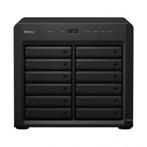 NAS Synology Tower DS3617xs 48TB (12 x 4 TB) assemblato con HDD WD Red Pro NAS