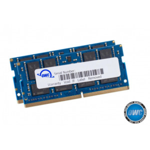 "OWC Kit RAM 32GB (2x16GB) PC4-21300 2666MHz DDR4 SO-DIMM - per iMac Retina 5K 27"" Early 2019 e Mac Mini Late 2018"