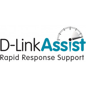Contratto D-Link Assist Silver - Categoria B - 3 anni - 5/7 - 9/24h - on-site h+4