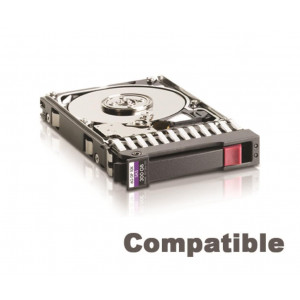 "HDD+cassetto compatibile HP 3,5"" - capacità 300GB - 15000rpm - SAS 12Gbps - Compatibile HP ProLiant (HP Spare Part : 737298-001)"