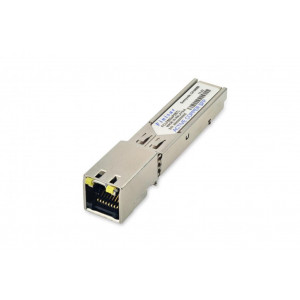 Finisar1GbE 1000BASE-T Copper SFP Transceiver,3.3V, -40°C to 85°C, RJ-45 , 100m