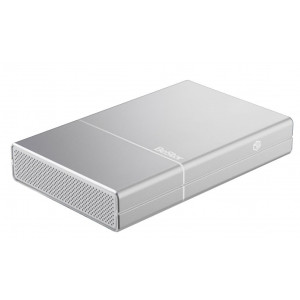 "Box BeStor per HDD 3,5"" SATA - interfaccia USB3.0 - alluminio- Alimentazione interna"
