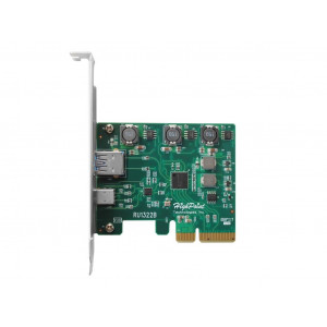 Highpoint RocketU 1322B - Scheda PCIe USB-C 3.1 - MAC & PC