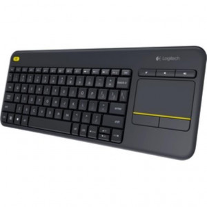 Logitech Tastiera Wireless Logitech K400 Plus Nero (TouchPad integrato)