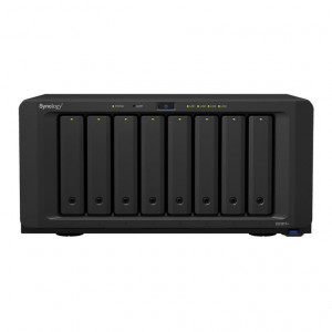 NAS Synology Tower DS1817 64TB (8 x 8TB) assemblato con HDD Seagate IronWolf Pro NAS