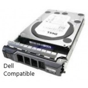 "HDD+cassetto compatibile Dell 2,5"" - capacità 600GB - 10KRpm - SAS 6Gb/s - Compatibile Dell Poweredge R710"