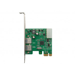 Highpoint RocketU 1022AM - Card PCI 2 x USB 3.0 esterne - PCI-Express 2.0 x1 - Mac/Win/Linux/FreeBSD