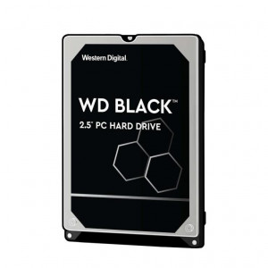 "Hard Disk Western Digital 2,5"" - capacità 500 GB - SATA 6Gb/s - 7200 rpm - 32 MB Cache - Serie Mobile Black - 9,5 mm"