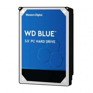"Hard Disk Western Digital 3,5"" - capacità 4 TB - SATA 6Gb/s - 5400 Rpm - 64 MB Cache - Serie Blue"
