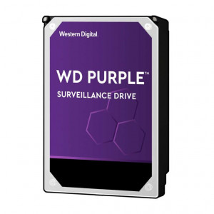 "Hard Disk Western Digital 3,5"" - capacità 4 TB - SATA 6Gb/s - 5400 Rpm - 64 MB Cache - Serie Purple Surveillance"