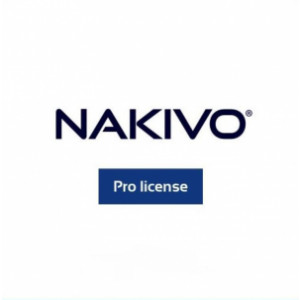 NAKIVO Backup & Replication Pro Essentials - 2 Years Per-machine Subscription. Maximum of 30 Machines per Organization.