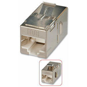 Accoppiatore Keystone RJ45 Cat6A 10Gigabit STP