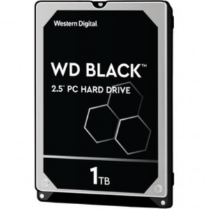 "Hard disk 2,5"" 1TB - 7200rpm - SATA 6Gbps - 64MB - WD Mobile Black 7mm"