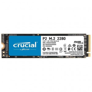 SSD Carte M.2 2280 500GB - PCIe 3.0 NVMe - CT500P2SSD8 - Crucial P2