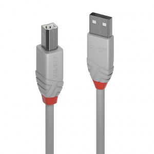 Cavo USB 2.0 Tipo A a B Anthra Line, 0,5m