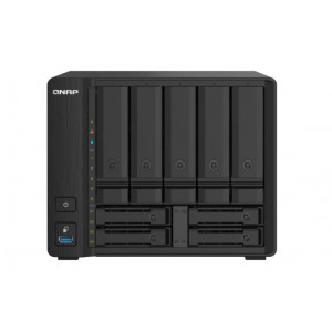 NAS assemblato  QNAP Tower TS-932PX-4G 70TB (5x14TB)  con HDD Seagate IronWolf