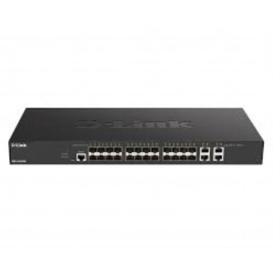 Switch Web managed L2+ Smart+ 24x 10GbE SFP+ & 4x cuivre 10GbE