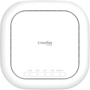 Nuclias Cloud - Access point Wi-Fi6 AX3600 PoE+ Dual Band simultaneo + 1 anno di licenza inclusa