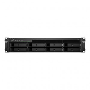 NAS assemblato  Synology Rack (2U) RS1221+ 8TB (8x1TB)  CON HDD Seagate IronWolf