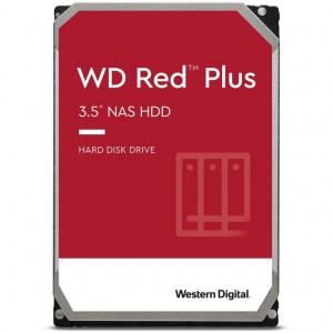 "Hard Disk Red Plus NAS 3.5"" 10TB - 7200rpm - SATA 6Gbps - 256MB"