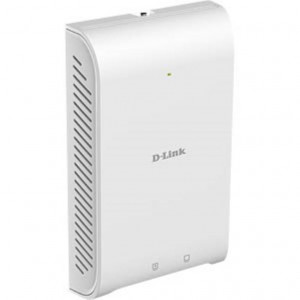 D-Link Nuclias Connect WiFi Wall Access Point - AC1200 Wave 2 PoE 802.3at Dual-Band simultaneo - 1x Gbit